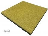 Резиновая плитка Желтыйдля тира