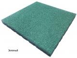 Резиновая плитка Зеленыйдля тира
