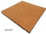 Резиновая плитка Оранжевыйдля тира