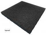 Резиновая плитка Черныйдля тира